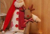 Babbo Natale Tilda doll