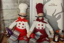 Cuochi Tilda doll
