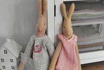 Conigli Tilda doll