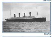 Titanic / výstavba, vyplutí, ztroskotání, vrak...