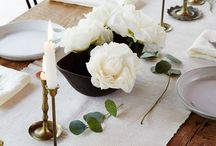 TABLE SETTINGS INSPIRATION / How to decorate your table