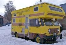 Motorhome, caravans & campers / obytná auta a přívěsy