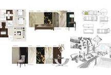 Interior Design Process / Interior Design Inspiration for home refurbishment. The process of renovating a home.