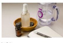 Essential Oils / Recipes for DIY home and personal care with doTERRA essential oils