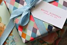 lovely wrappings / by hales ☯