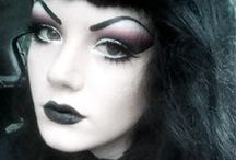 Gothic Makeup / Nails / Little makeup/nail ideas that have caught my attention and I might try eventually.