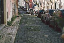 P 欧米街風景