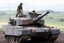 W JSDF陸自戦車 / mbt