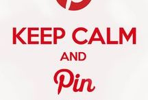 Color Red - Farge Rød / Keep Calm and Pin on :-)