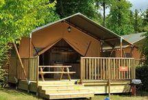 Campen im Safari-Style / Das Deluxe Safarizelt bietet Euch die unvergleichliche Campingatmosphäre und gleichzeitig alle Annehmlichkeiten eines Zuhauses.