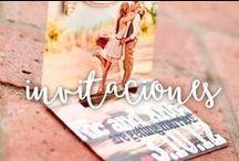 Invitaciones de Boda / Las Invitaciones son el anuncio oficial de vuestra boda! Aquí nuestra selección especial / by Mi Boda