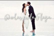 Bodas en la Playa / La boda de tus sueños. El mar, la arena, el escenario perfecto para una boda perfecta.