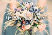 Ramos de Novia / Nuestra selección de distintos Ramos de flores para las novia, distintas flores, distintos colores