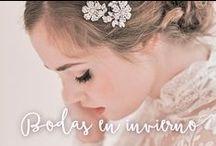 Bodas de Invierno / Ideas para los que celebran su boda en invierno