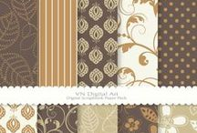 Digital Paper Stash - Black, White, Brown, & Neutrals / A collection of digital scrapbook papers - this board is for neutral color schemes such as black, white, grey, brown, olive, and tan.  *****to pin on this board, follow me (http://www.pinterest.com/northernwhimsy/) and send an email to northernwhimsy(at)gmail.com