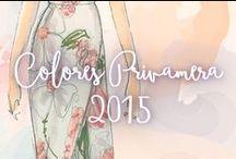 Colores Primavera 2015 / Todos los colores que se llevarán esta primavera.