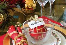 Christmas Table Setting  - Borddekking  Jul / Keep Calm and Pin on :-)