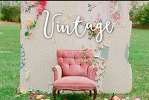 Bodas Vintage / Estilo victoriano, encajes, colores suaves y blancos rotos.