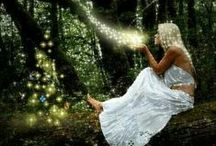 My enchanted fairy forest✿⊱ / may you dance with fairies and talk to the moon