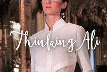 ThinkingAli: Desfile en Atelier Couture 2015. / Desfile de @ThinkingAli en Atelier Couture 2015. Diseño de fiesta y novia.