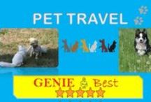 Pet Travel / Share ideas on pet travel and pet training. Easy and safe pet travel tips. Birthday and holiday gifts for your best friend. Pet accessories such as dog cushion collars for every day use. http://www.pets.geniebest.com