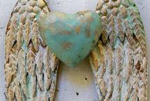 Angel wings  / angel wings made of wood etc.