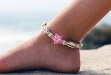 Beach Ankle Bracelets / Beach anklet, or ankle bracelets.
