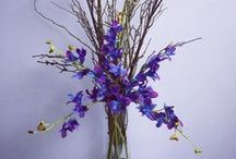 Real Touch Orchid Flower Arrangements