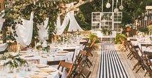 wedding style / decor