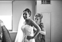 Putting on the Dress / Our brides putting on their dress on the day of the wedding.For more about us please visit http://www.studiofinch.com #chicago #wedding #bride #photography