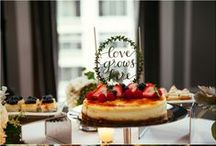 Wedding Cakes, Pies, Cupcakes, Sweets / Anything sweet to eat at a #wedding. #weddingcake #cupcakes #pies #sweets