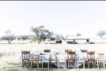 Country Style – Outdoor & Entertaining / Dine al fresco, whether on a picnic rug or under the stars at the campsite, these beautiful settings will inspire your next outing.