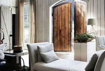 Country Style – Living Rooms / Settle down into a comfortable sofa or admire the art on the walls.