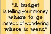 Budgeting / Money, money, money!