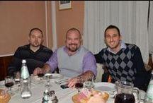 Cena di Natale 2013 in Jservice  / Cena social social del team di Jservice.com. Chiacchiere da fine dell'anno e allegria da buon vino.
