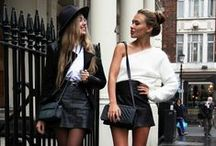 Street chic / i wish everytime i repinned an outfit, it was automatically in my closet