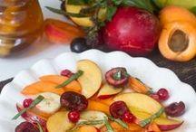 frutas apetitosas / cocina