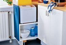 Idee salvaspazio e IkeaHackers / Mobili salvaspazio ideali per arredare piccoli ambienti. Fai da te e modificati da mobili in kit tipo ikea.