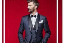 Men's Fashion / La moda uomo: dall'abito da sposo al completo per un'invitato, dagli accessori alle novità per essere impeccabili nelle occasioni importanti.