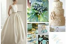 Wedding colours for  2015 / Moodboards