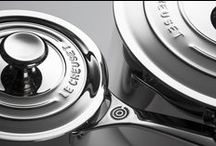The World's Most Colourful Stainless Steel / The new 3-Ply PLUS Stainless Steel Professional collection from Le Creuset.