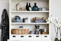 Country Style – Storage & Shelving / Creative and unique ideas to display your beautiful objects.