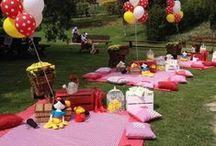 Idées anniv kidz / food and decoration ideas for picnic