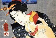 Ukiyo-e, Nishiki-e, Woodblock