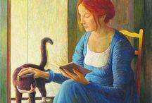 Paintings of cats/Dipinti di gatti