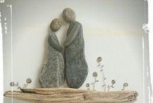stones that have a heart/pietre che hanno un cuore