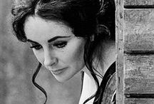 ❃❤ Elizabeth Taylor ❤❃ / Elizabeth Taylor was born in London on February 27, 1932. She became known for her acting talent, glamour and beauty; as well as a much publicized private life, social activist, championing the cause of AIDS awareness, prevention and cure. Taylor, has been a two-time winner of the Academy Award for Best Actress. The American Film Institute named Taylor seventh on its Female Legends list. She passed away on March 23, 2011 for congestive heart failure in Los Angeles / by ☺ Laura Carine Gamba-Trucchi