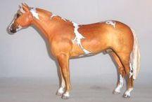 HORSES--Model horses, horses in art, etc. / by Lynn LaGrone