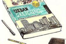 Beautiful Urban Sketches / Beautiful Urban Sketches / by odesla odesla