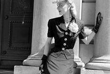 Fashion 1940s.